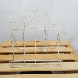 Wire Cook book stand